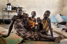Crisis humanitaria en Sudán del Sur
