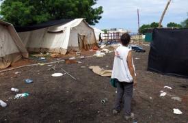Así encontraron el hospital y la farmacia de MSF: saqueados tras los combates que llegaron a Melut, Sudán del Sur