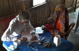 Sursudaneses refugiados en Sudán