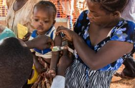 Campaña de vacunación de Médicos Sin Fronteras © Erwan Rogard/MSF