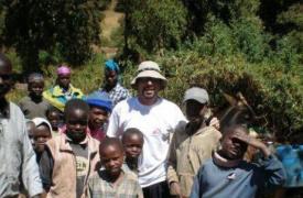 El médico Victor Piriz de MSF en Uganda
